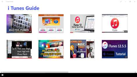 i Tunes Guide Screenshots 1