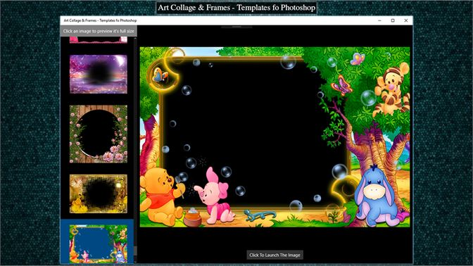 Art Collage & Frames - Templates fo Photoshop for Windows 10