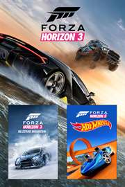 Carátula del juego Forza Horizon 3 and Expansion Pass Bundle de Xbox One