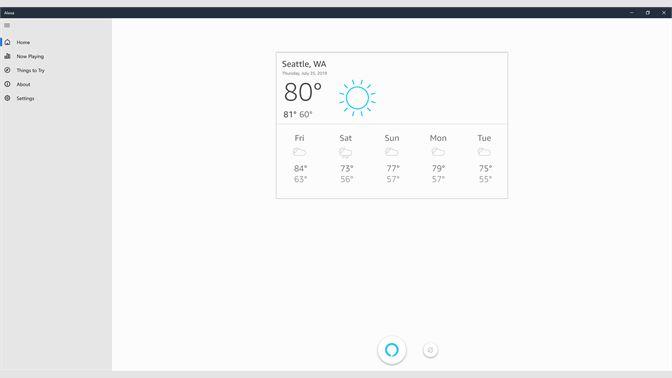 Get Alexa - Microsoft Store