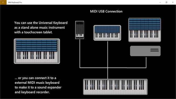 Get MIDI Keyboard Pro - Microsoft Store