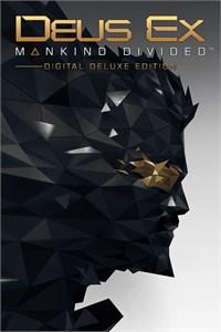 Carátula para el juego Deus Ex: Mankind Divided - Digital Deluxe Edition de Xbox 360