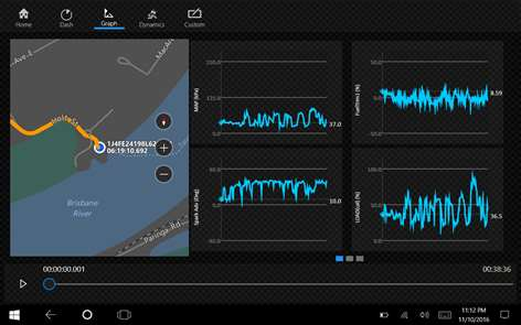 OBD dash.csv Analytics Screenshots 2