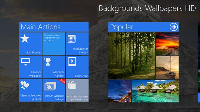 Get Backgrounds Wallpapers Hd Microsoft Store