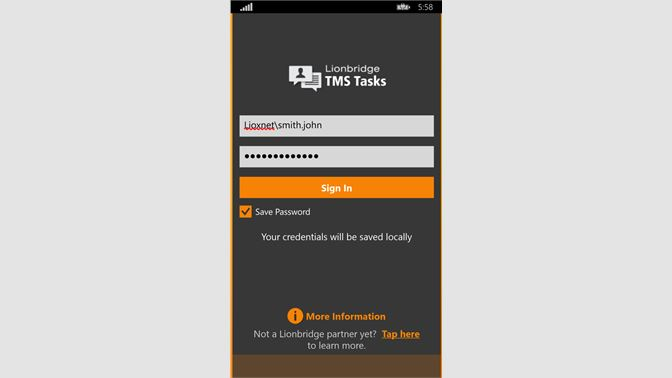 Get TMS Tasks - Microsoft Store