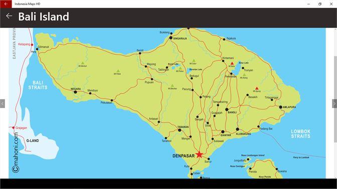 Buy Indonesia Maps Hd Microsoft Store En Nr