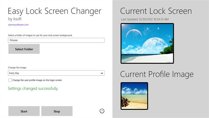 get easy lock screen changer microsoft store