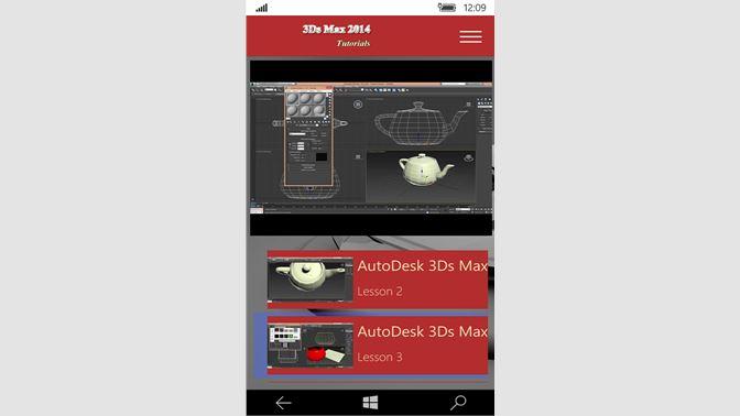 Buy Autodesk 3Ds Max 2014 Tutorials - Microsoft Store en-SH