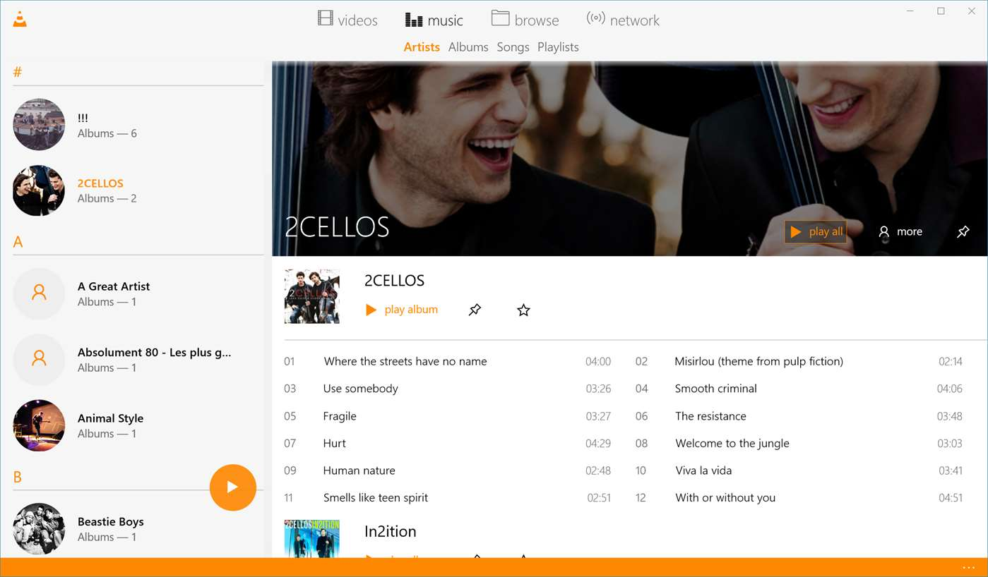 VLC for the Xbox One submitted to the store 5