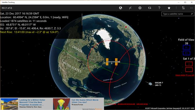 Get Satellite Tracking Microsoft Store - Microsoft satellite maps