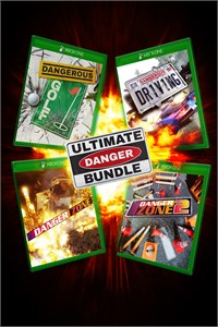 Carátula para el juego Ultimate Danger Bundle - 4 Dangerous Games including Dangerous Driving de Xbox 360