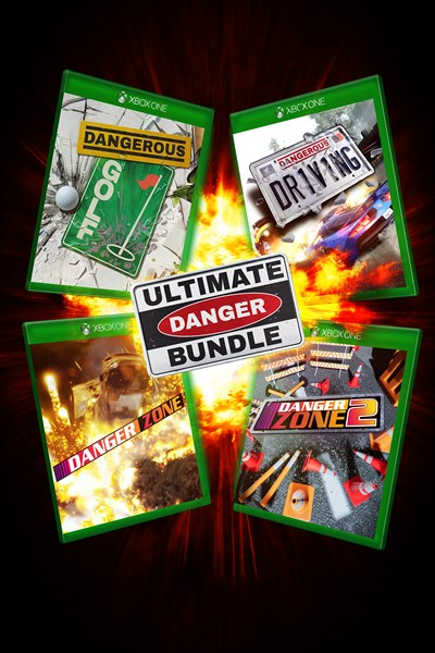 Ultimate Danger Bundle - 4 Dangerous Games including Dangerous Driving