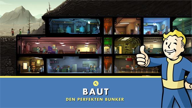 Fallout Shelter Beziehen Microsoft Store De De