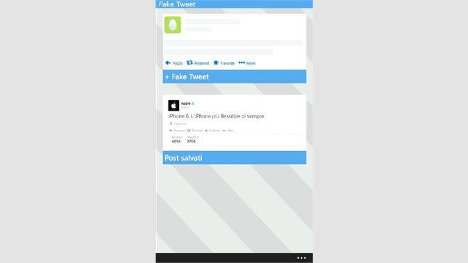 Get Fake Tweet - Microsoft Store