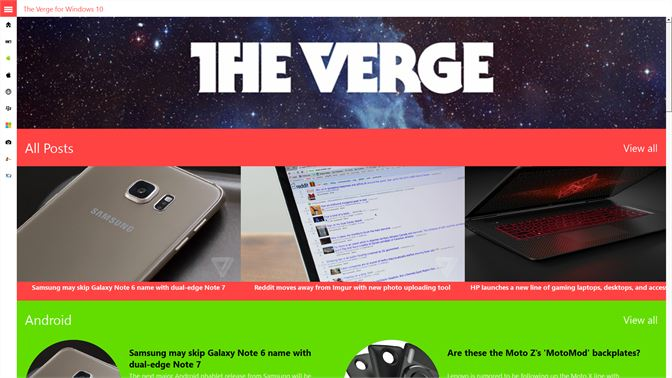Get The Verge for Windows 10 - Microsoft Store