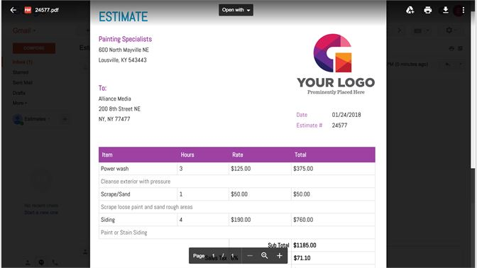 Get Estimates Invoices Maker Microsoft Store - Free invoice maker software online store builder