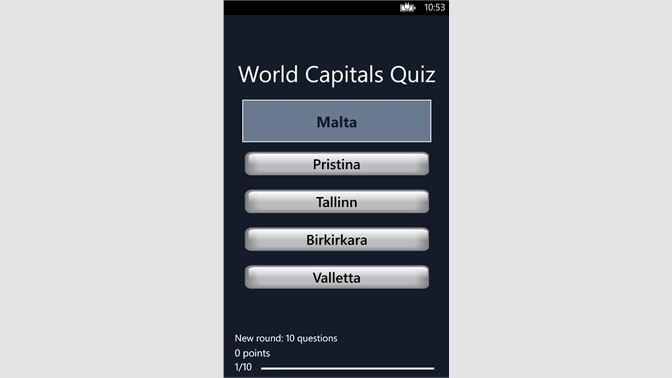 Get World Capitals - Microsoft Store