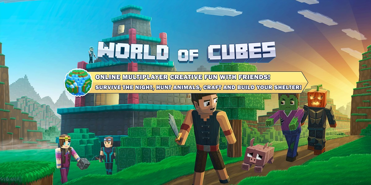 Obtener World Of Cubes Survival Craft Microsoft Store EsAR - Micro cubes map para minecraft 1 8 descargar