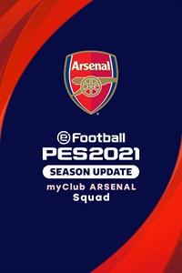 eFootball PES 2021 myClub ARSENAL Squad