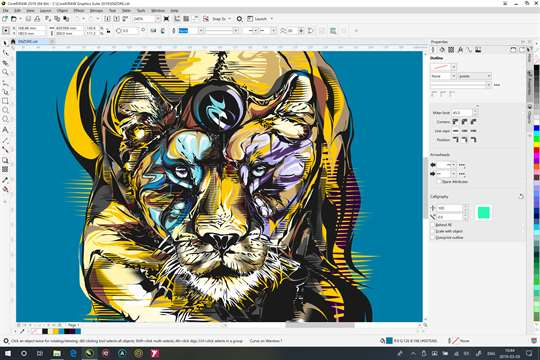 CorelDRAW Microsoft Store Edition screenshot 1