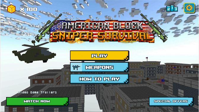 American Block Sniper Survival beziehen – Microsoft Store de-DE on