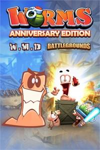 Carátula para el juego Worms Anniversary Edition de Xbox 360
