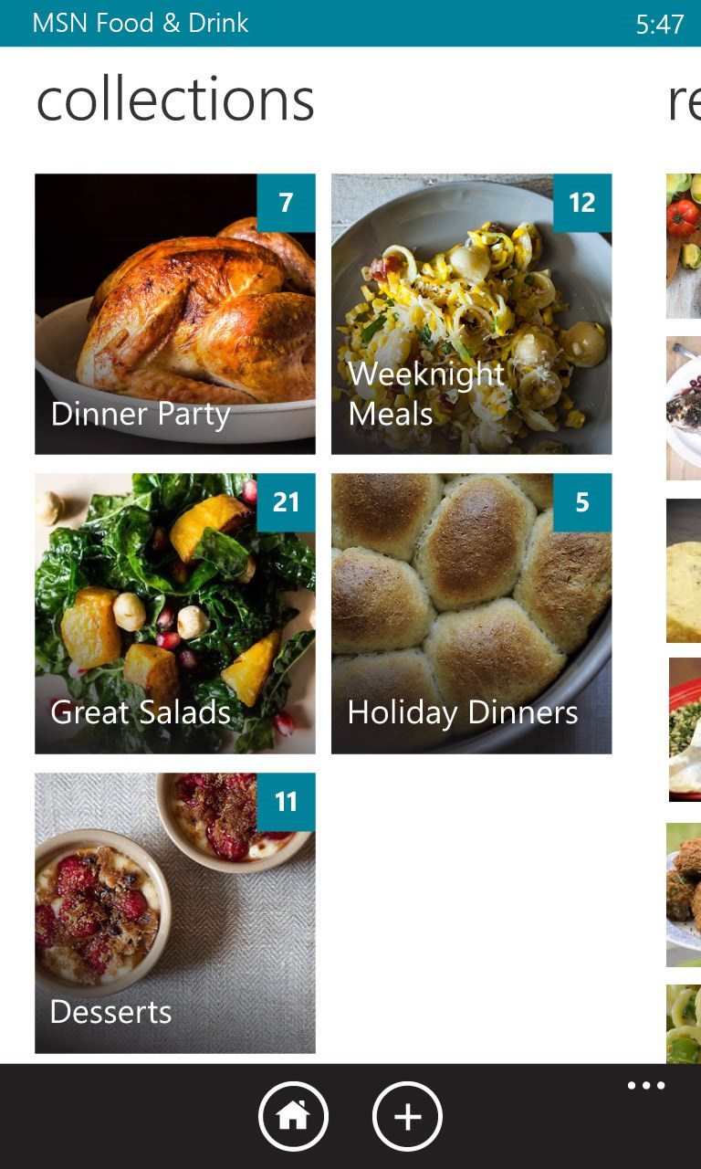 food msn drink apps app similar windows recipes