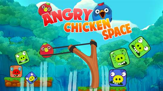Angry Chicken Space Wars screenshot 1