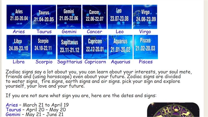 Get Zodiac Signs and Horoscope - Microsoft Store en-CA