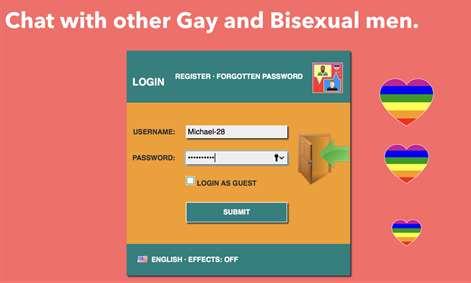 Gay Chat. Screenshots 2