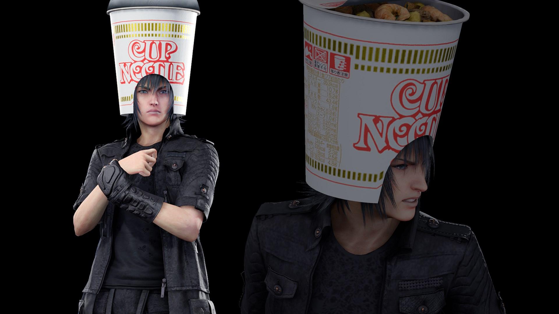 Outfit: Noodle Helmet