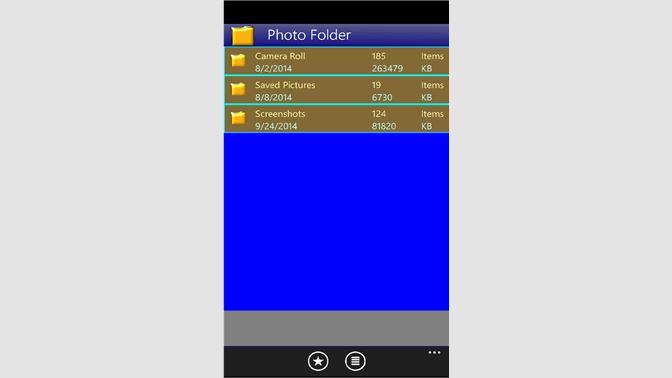 Get PhotoFolder - Microsoft Store