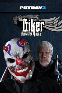 PAYDAY 2: CRIMEWAVE EDITION - The Biker Character Pack