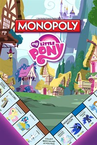 DLC MY LITTLE PONY PARA MONOPOLY