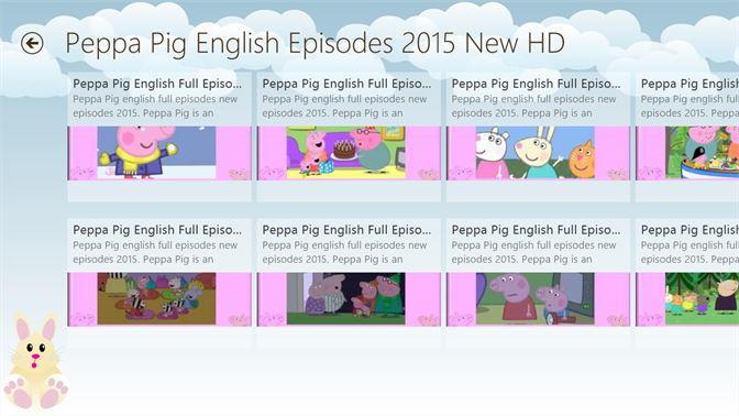 Peppa Pig All Episodes English Beziehen Microsoft Store De Ch