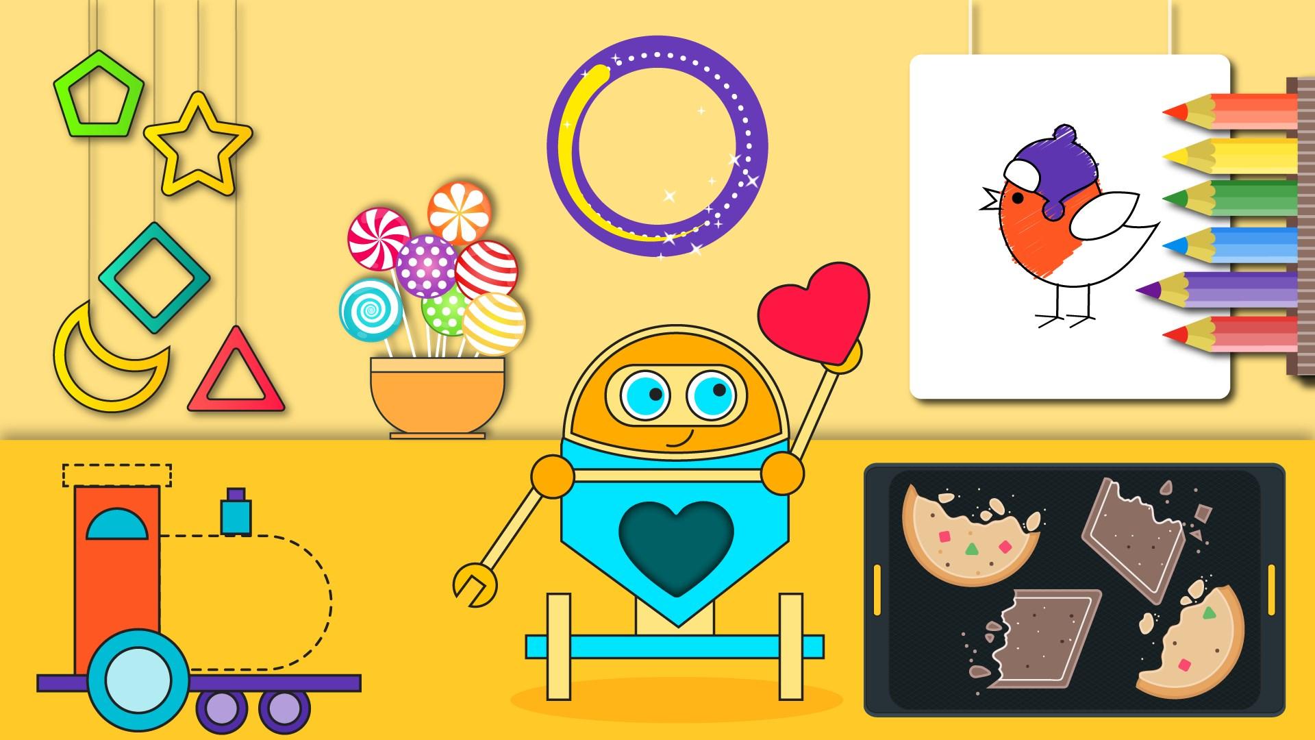 Obtener Preescolar Niño Formas y Color: Microsoft Store es-CO