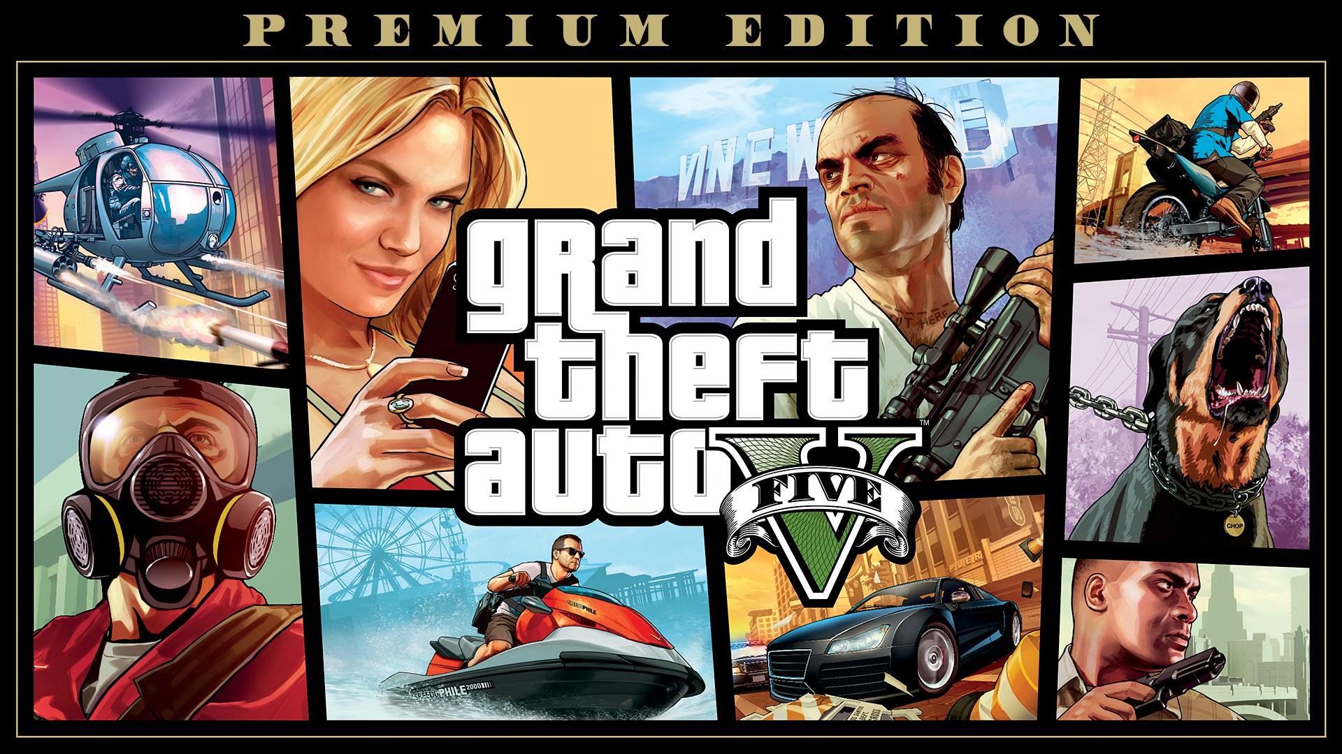 Скриншот №7 к Grand Theft Auto V Premium Edition
