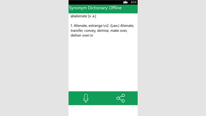 Get Synonym Dictionary Offline - Microsoft Store