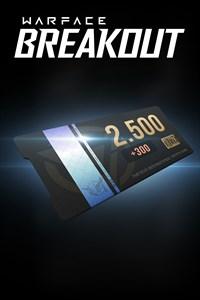 2500 Coins (+300 bonus)