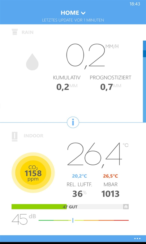 apps.35810.9007199266592651.3662edf7-eacc-4aaf-85cd-3bda1398d001 Smart Home: Die Netatmo Wetterstation im Test Apple iOS Gadgets Google Android Hardware Reviews Technology Testberichte