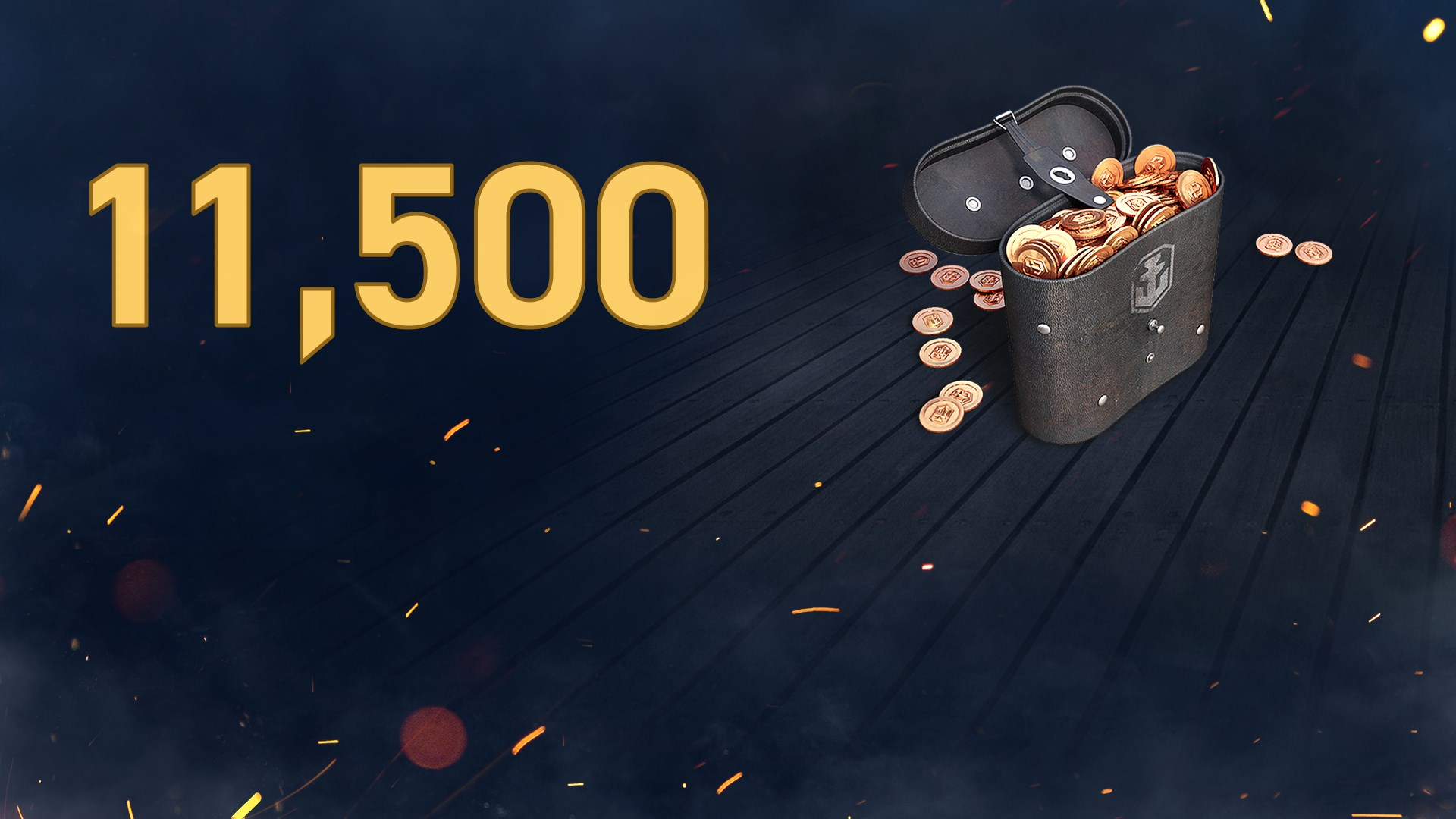 World of Warships: Legends - 11 500 doublons