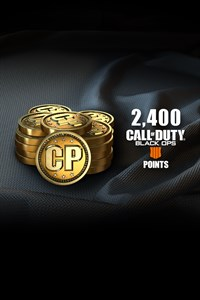 2400 puntos Call of Duty®: Black Ops 4