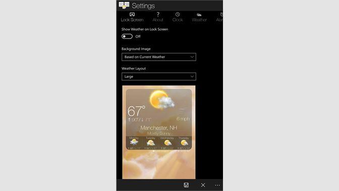 Get Sense Clock - Microsoft Store