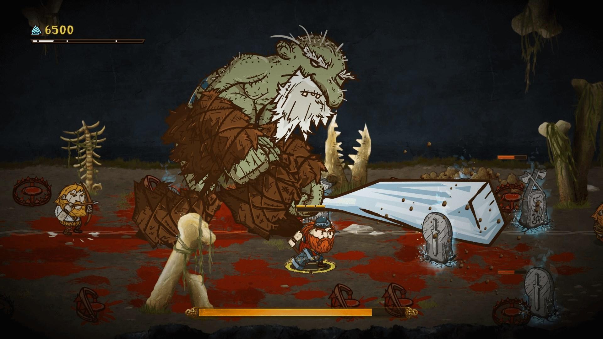 Скриншот №1 к Die for Valhalla!