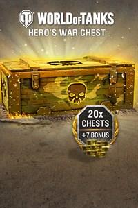 World of Tanks - 20 Hero's War Chests + 7 Bonus!