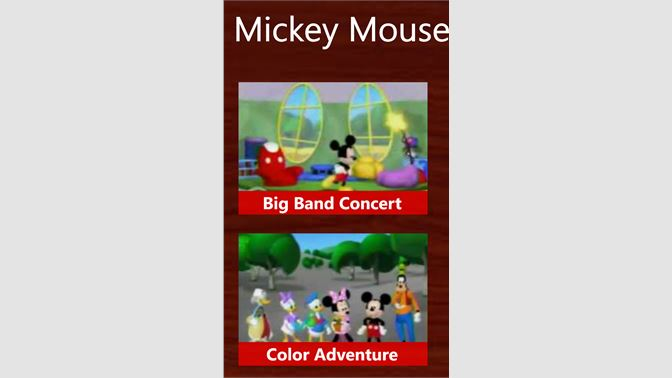 Get Mickey Mouse games - Microsoft Store