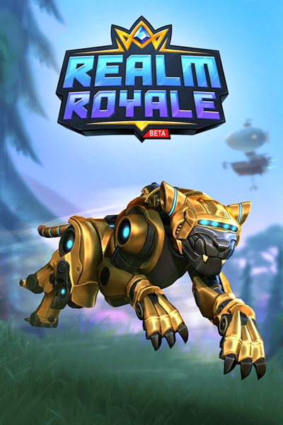 Realm Royale Gold Plated Prowler Bundle