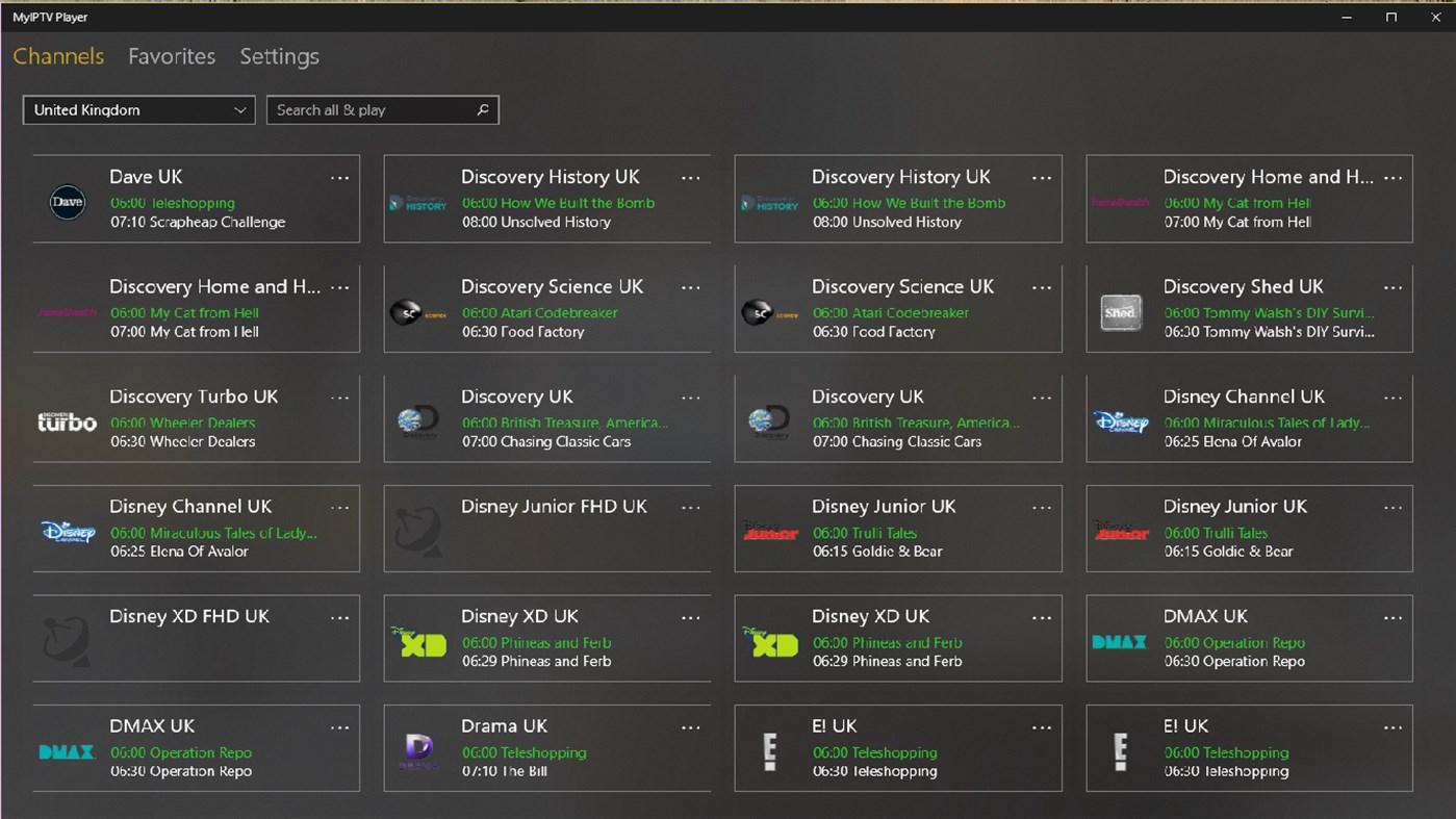 MyIPTV Player – (Windows Apps) — AppAgg