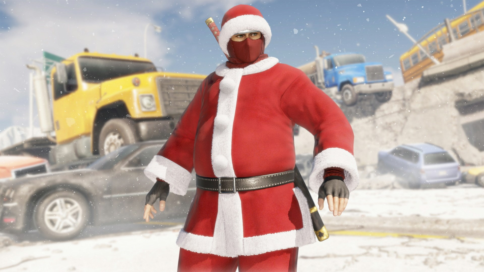 [Revival] DOA6 Santa's Helper Costume - Hayabusa
