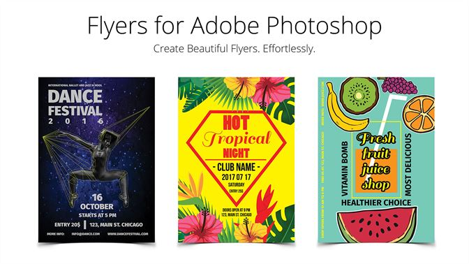 Buy Flyer Templates For Photoshop Microsoft Store